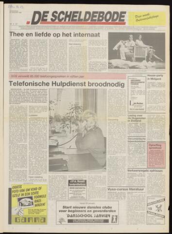 Scheldebode 1992-01-15