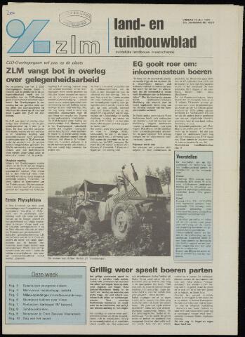 Zeeuwsch landbouwblad ... ZLM land- en tuinbouwblad 1991-07-12