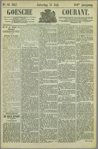 Goessche Courant 1917-07-21