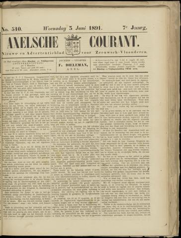 Axelsche Courant 1891-06-03