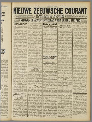 Nieuwe Zeeuwsche Courant 1930-04-08