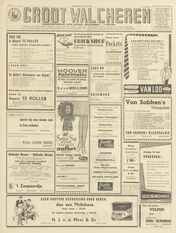 Groot Walcheren 1963-06-13