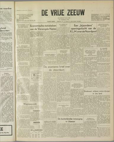 de Vrije Zeeuw 1958-07-07