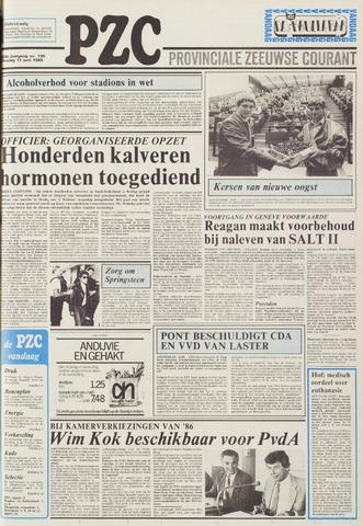 Provinciale Zeeuwse Courant 1985-06-11