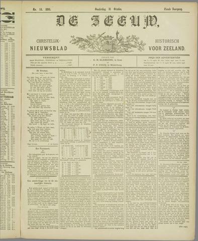 De Zeeuw. Christelijk-historisch nieuwsblad voor Zeeland 1895-10-31