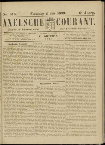 Axelsche Courant 1890-07-02