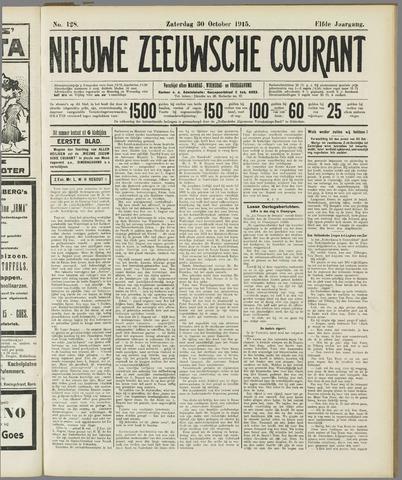 Nieuwe Zeeuwsche Courant 1915-10-30