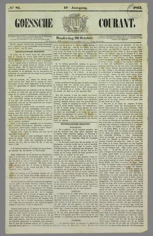 Goessche Courant 1862-10-30