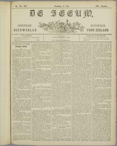 De Zeeuw. Christelijk-historisch nieuwsblad voor Zeeland 1897-06-10