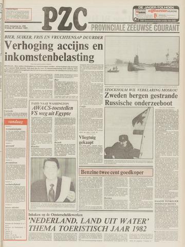 Provinciale Zeeuwse Courant 1981-10-30