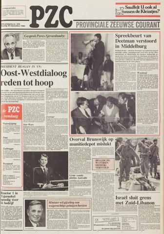 Provinciale Zeeuwse Courant 1986-09-23