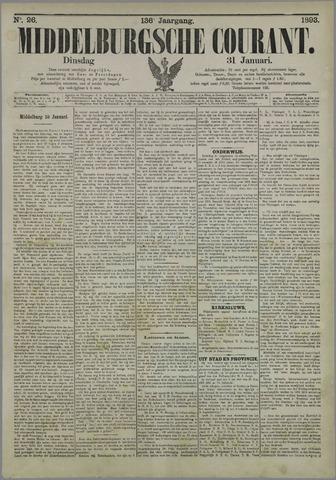 Middelburgsche Courant 1893-01-31