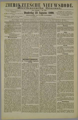 Zierikzeesche Nieuwsbode 1900-08-23