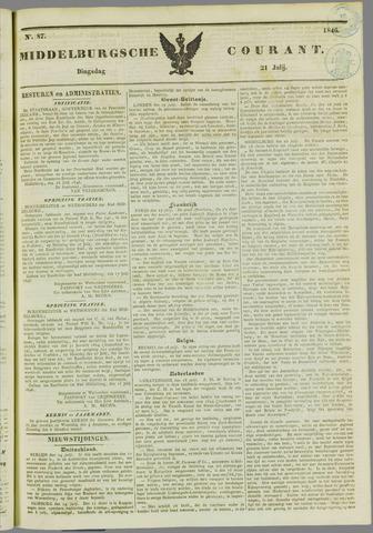 Middelburgsche Courant 1846-07-21