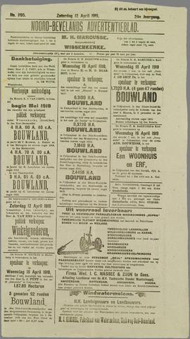 Noord-Bevelands Nieuws- en advertentieblad 1919