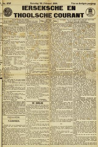 Ierseksche en Thoolsche Courant 1918-02-23