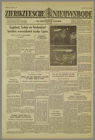 Zierikzeesche Nieuwsbode 1959-02-20