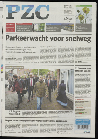 Provinciale Zeeuwse Courant 2013-05-22