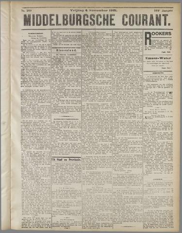 Middelburgsche Courant 1921-11-04