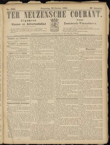 Ter Neuzensche Courant. Algemeen Nieuws- en Advertentieblad voor Zeeuwsch-Vlaanderen / Neuzensche Courant ... (idem) / (Algemeen) nieuws en advertentieblad voor Zeeuwsch-Vlaanderen 1899-10-26