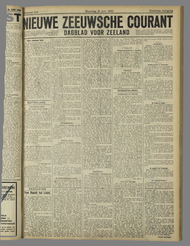 Nieuwe Zeeuwsche Courant 1920-06-21
