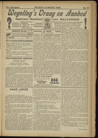 Zeeuwsch Nieuwsblad/Wegeling's Nieuwsblad 1925-03-13