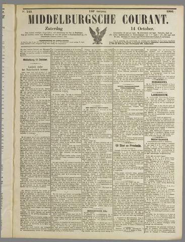 Middelburgsche Courant 1905-10-14