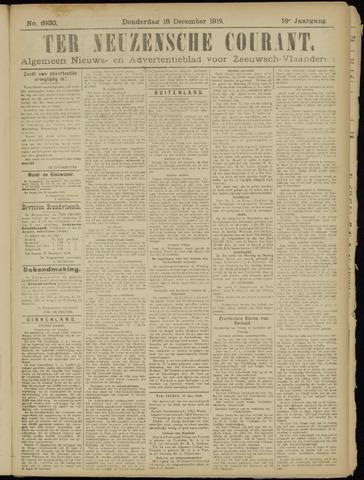 Ter Neuzensche Courant. Algemeen Nieuws- en Advertentieblad voor Zeeuwsch-Vlaanderen / Neuzensche Courant ... (idem) / (Algemeen) nieuws en advertentieblad voor Zeeuwsch-Vlaanderen 1919-12-18