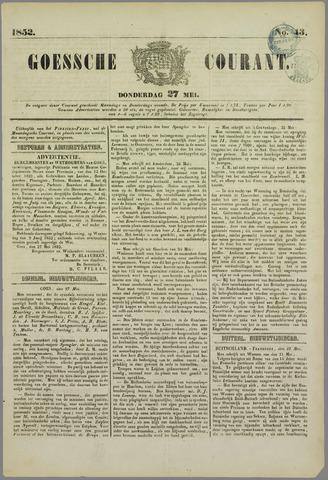 Goessche Courant 1852-05-27