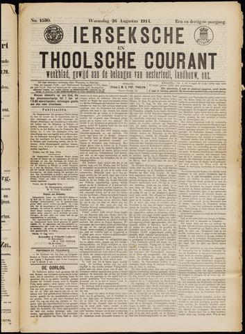 Ierseksche en Thoolsche Courant 1914-08-26