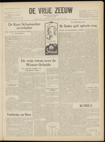 de Vrije Zeeuw 1952-08-22