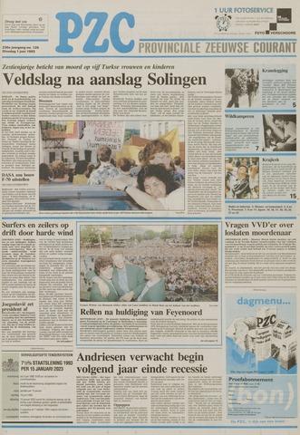 Provinciale Zeeuwse Courant 1993-06-01