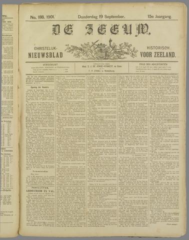 De Zeeuw. Christelijk-historisch nieuwsblad voor Zeeland 1901-09-19
