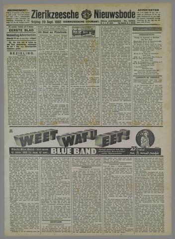 Zierikzeesche Nieuwsbode 1932-09-23
