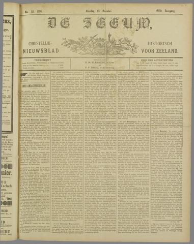 De Zeeuw. Christelijk-historisch nieuwsblad voor Zeeland 1896-12-15