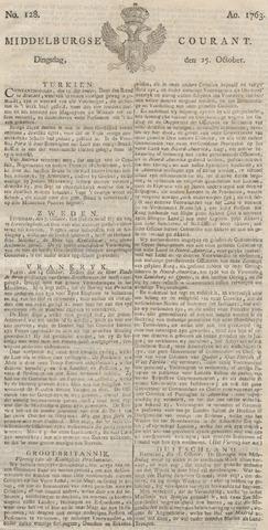 Middelburgsche Courant 1763-10-25