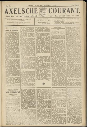 Axelsche Courant 1935-11-22
