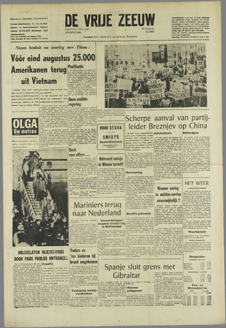 de Vrije Zeeuw 1969-06-09