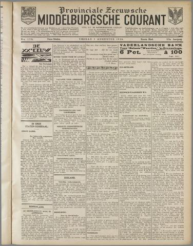 Middelburgsche Courant 1930-08-01