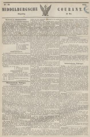 Middelburgsche Courant 1851-05-27