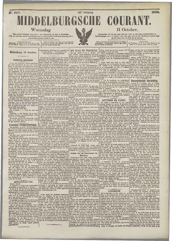 Middelburgsche Courant 1899-10-11