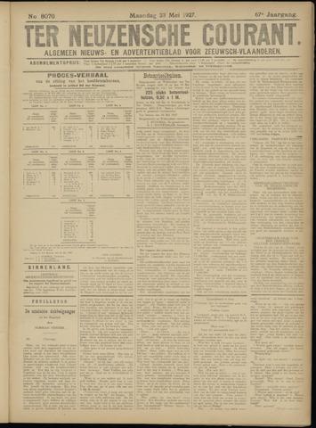 Ter Neuzensche Courant. Algemeen Nieuws- en Advertentieblad voor Zeeuwsch-Vlaanderen / Neuzensche Courant ... (idem) / (Algemeen) nieuws en advertentieblad voor Zeeuwsch-Vlaanderen 1927-05-23