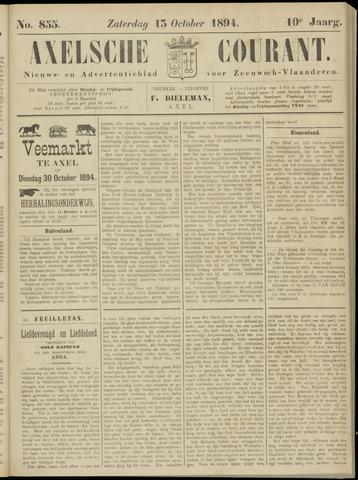 Axelsche Courant 1894-10-13