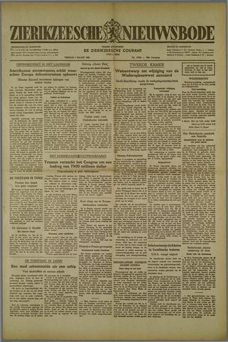 Zierikzeesche Nieuwsbode 1952-03-07