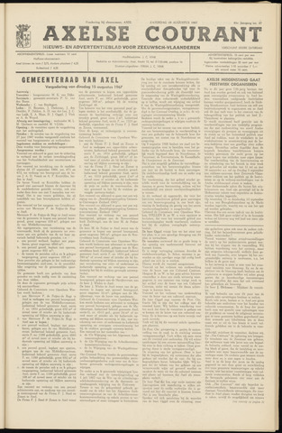Axelsche Courant 1967-08-19