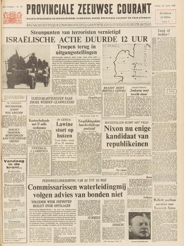 Provinciale Zeeuwse Courant 1968-03-22