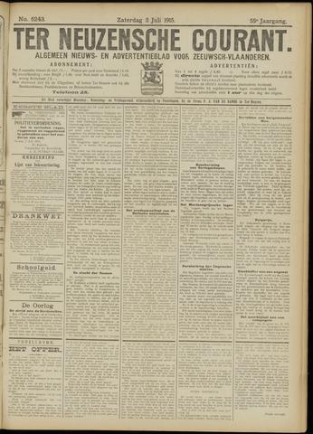Ter Neuzensche Courant. Algemeen Nieuws- en Advertentieblad voor Zeeuwsch-Vlaanderen / Neuzensche Courant ... (idem) / (Algemeen) nieuws en advertentieblad voor Zeeuwsch-Vlaanderen 1915-07-03
