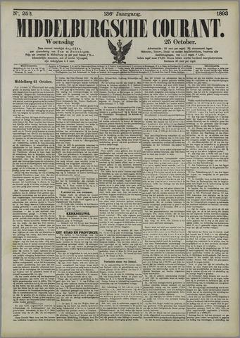 Middelburgsche Courant 1893-10-25