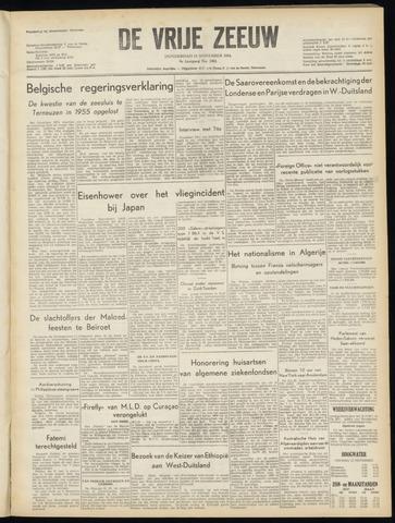 de Vrije Zeeuw 1954-11-11