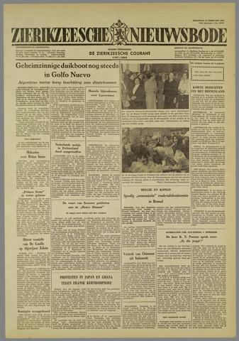 Zierikzeesche Nieuwsbode 1960-02-15